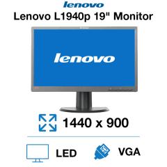 "Lenovo L1940PWD 19"" Monitor"