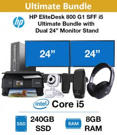 HP EliteDesk 800 G1 SFF i5 Ultimate Bundle