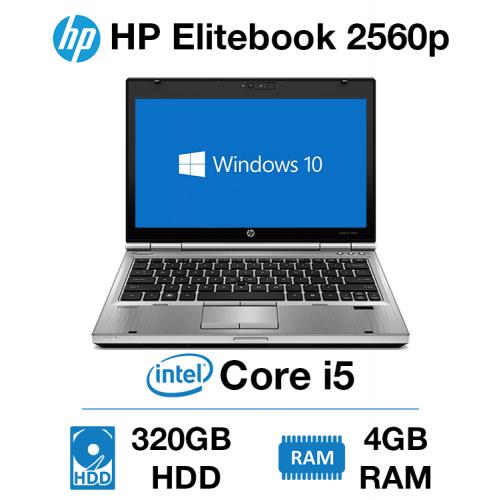 HP Elitebook 2560p Core i5   4GB   320GB HD
