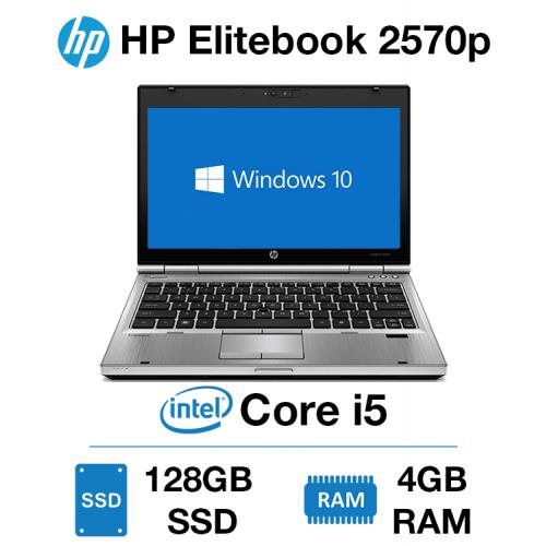 HP Elitebook 2570p Core i5   4GB   128GB SSD