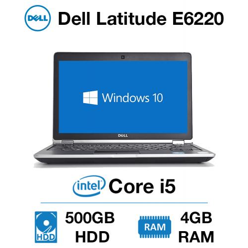 Dell Latitude E6220 Core i5 | 4GB | 500GB HD
