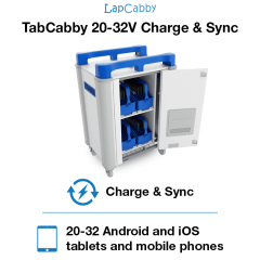 TabCabby 20-32V – Charge & Sync