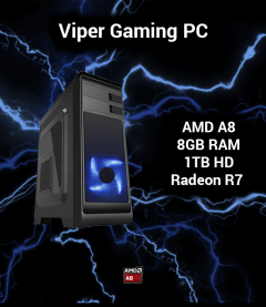 Viper Gaming PC AMD A8 | 8GB | 1TB HD