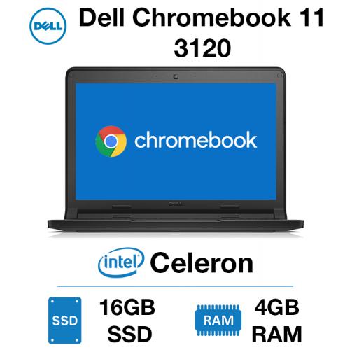 Dell Chromebook 11 3120 Celeron   4GB   16GB SSD