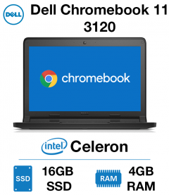 Dell Chromebook 11 3120 Celeron | 4GB | 16GB SSD