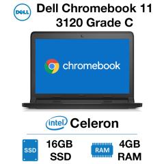 Dell Chromebook 11 3120 Celeron | 4GB | 16GB SSD Grade C