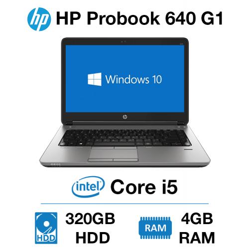 HP Probook 640 G1 Core i5   4GB   320GB HD