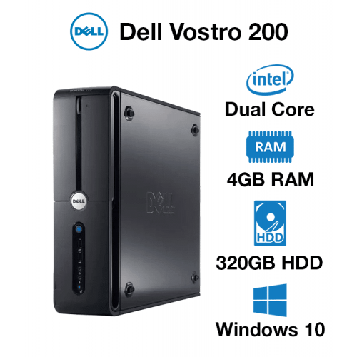 Dell Vostro 200 Dual Core   4GB   320GB HD