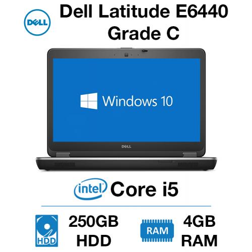 Dell Latitude E6440 Core i5   4GB   250GB HD Grade C