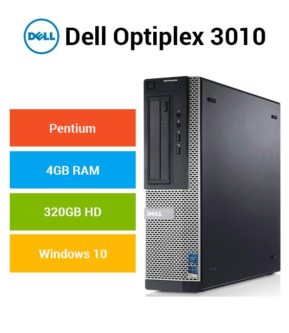 Dell Optiplex 3010 Pentium | 4GB | 320GB HD