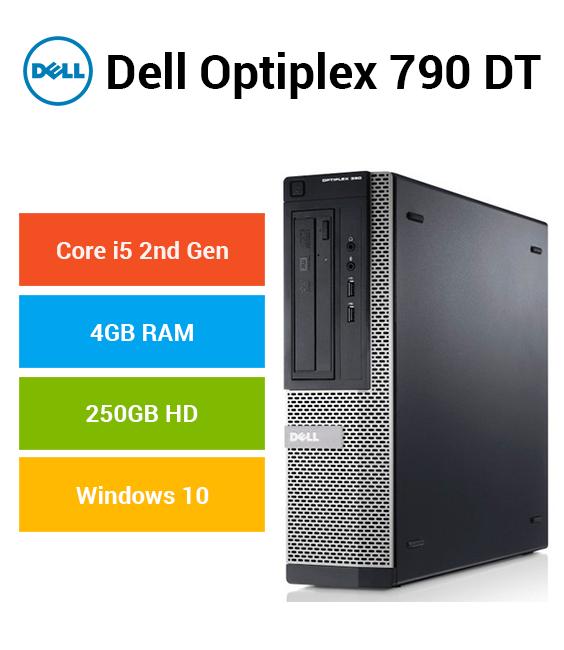 Dell Optiplex 790 DT Core i5 | 4GB | 250GB