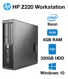 HP Workstation Z220 Xeon | 4GB | 320GB HD