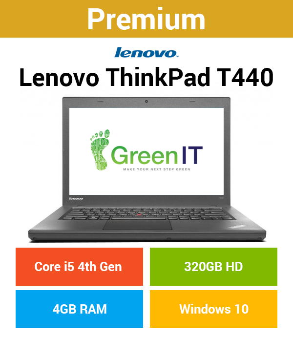 Lenovo ThinkPad T440 Core i5 | 4GB | 320GB HD (Premium)
