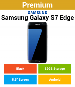 Samsung Galaxy S7 Edge G935F 32GB Black (Premium)