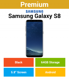 Samsung Galaxy S8 G950F 64GB Black (Premium)