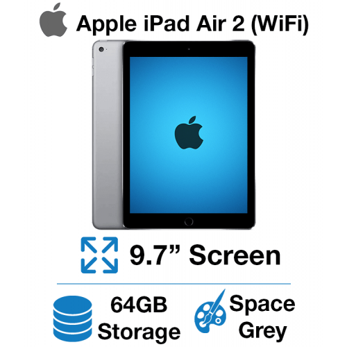 Apple iPad Air 2 (WIFI) 64GB Space Gray