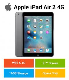 Apple iPad Air 2 (WIFI & 4G) 16GB Space Gray