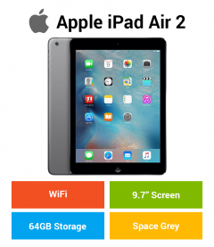 Apple iPad Air 2 (WIFI) 64GB Space Gray