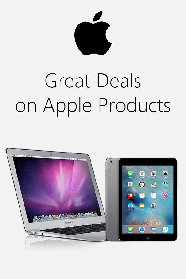 great deals on apple products
