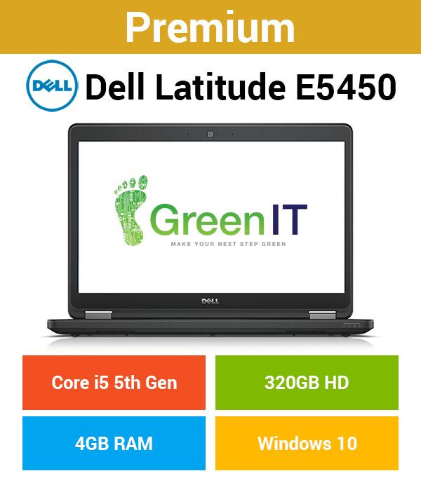 Dell Latitude E5450 Core i5 | 4GB | 320GB HD (Premium)