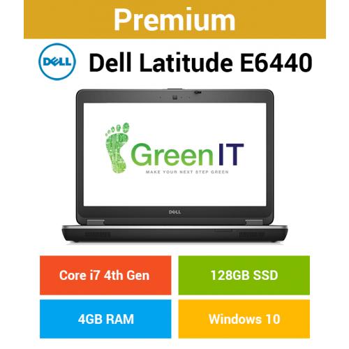 Dell Latitude E6440 Core i7 | 4GB | 128GB SSD (Premium)