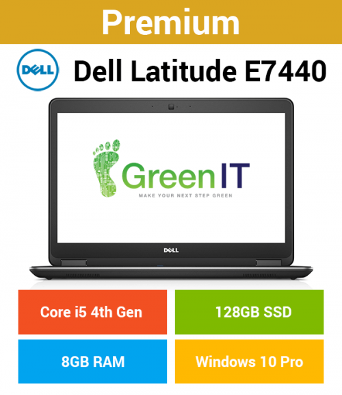 Dell Latitude E7440 Core i5 | 8GB | 128GB SSD (Premium)