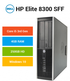 HP Compaq 8300 Elite SFF Core i5 | 4GB | 250GB HD