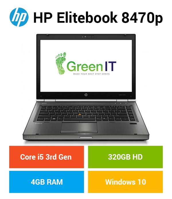 HP EliteBook 8470P Core i5   4GB   320GB HD