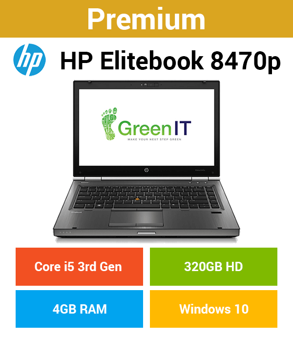 HP EliteBook 8470P Core i5 | 4GB | 320GB HD (Premium)