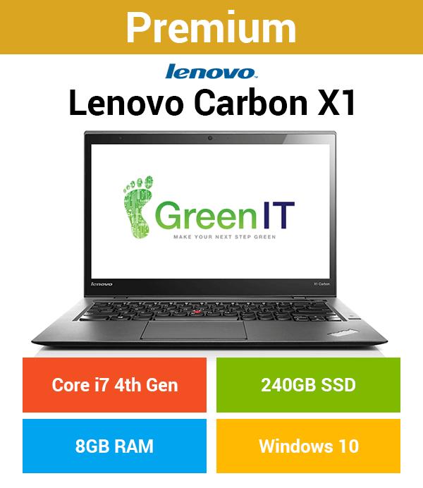 Lenovo ThinkPad X1 Carbon Core i7 | 8GB | 240GB SSD (Premium)