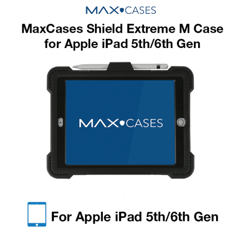 MaxCases Shield Extreme M Case for iPad 5th Gen/6th Gen