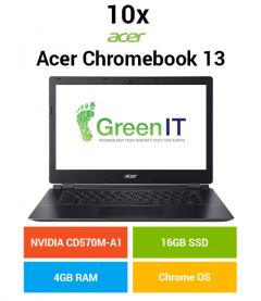 10 x Acer Chromebook 13 C810-T7ZT NVIDIA Tegra | 4GB | 16GB SSD (School & Charity Offer)