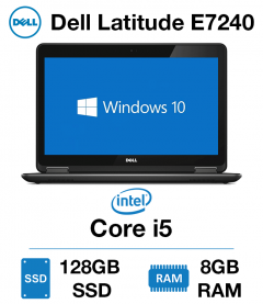 Dell Latitude E7240 Core i5 | 8GB | 128GB SSD