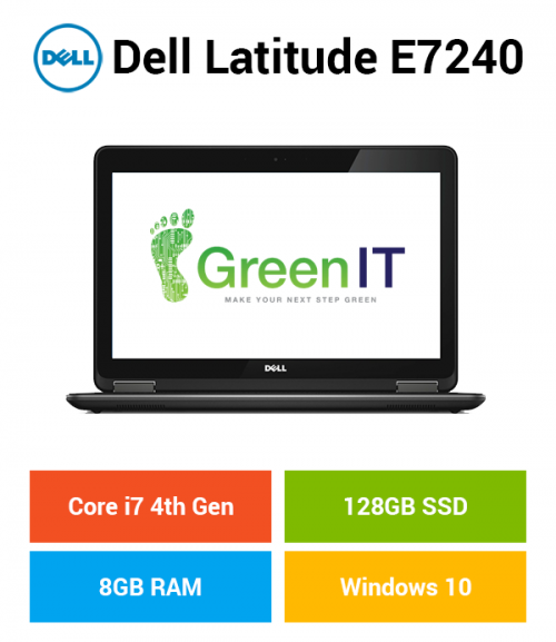Dell Latitude E7240 Core i7 | 8GB | 128GB SSD
