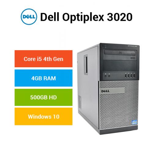 Dell Optiplex 3020 Tower Core i5 | 4GB | 500GB