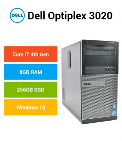 Dell Optiplex 3020 Tower Core i7 | 8GB | 256GB SSD