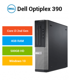 Dell Optiplex 390 Core i3 | 4GB | 500GB HD