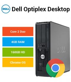 Dell Optiplex Desktop Core 2 Duo | 4GB | 160GB HD Chrome OS