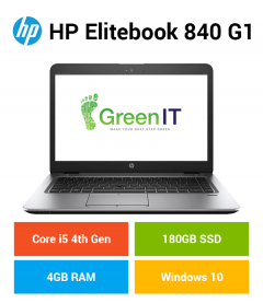 HP Elitebook 840 G1 Core i5 | 4GB | 180GB SSD
