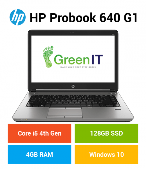 HP Probook 640 G1 Core i5 | 4GB | 128GB SSD