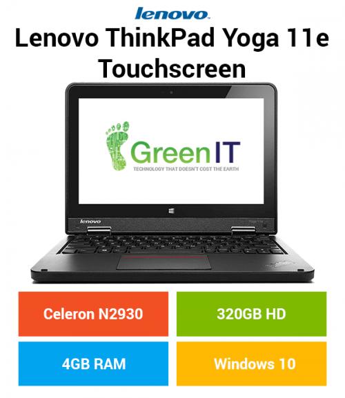Lenovo ThinkPad Yoga 11e Touchscreen Celeron | 4GB | 320GB HD