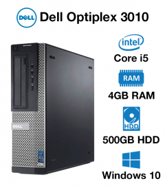 Dell Optiplex 3010 Core i5 | 4GB | 500GB HD