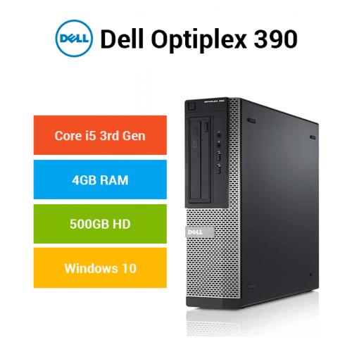 Dell Optiplex 390 Core i5 | 4GB | 500GB HD
