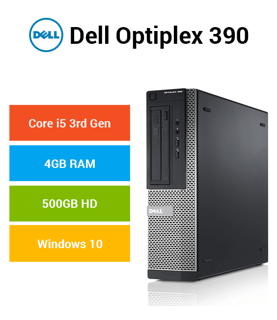 Dell Optiplex 390 Core i5 | 4GB | 500GB HD