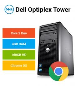 Dell Optiplex Tower Core 2 Duo | 4GB | 160GB HD Chrome OS
