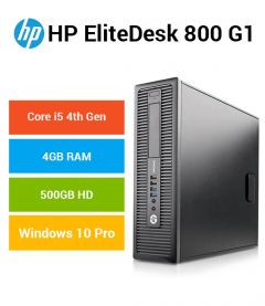 HP EliteDesk 800 G1 SFF Core i5 | 4GB | 500GB HD (Education Offer)