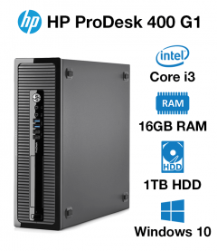 HP ProDesk 400 G1 SFF Core i3 | 16GB | 1TB HD