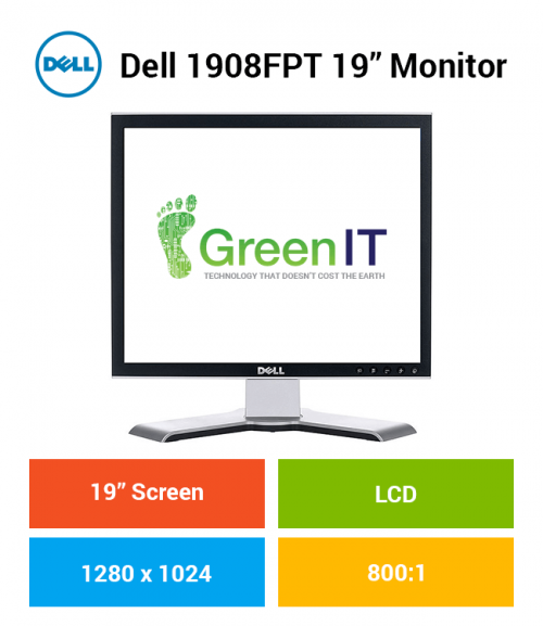 "Dell 1908FPT 19"" Monitor"