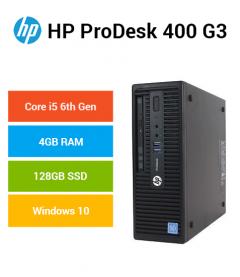 HP ProDesk 400 G3 SFF Core i5   4GB RAM   128GB SSD