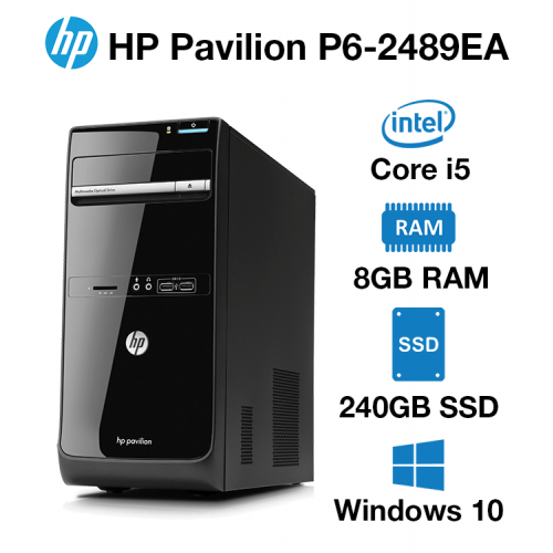 HP Pavilion P6-2489EA Core i5   8GB   240GB SSD